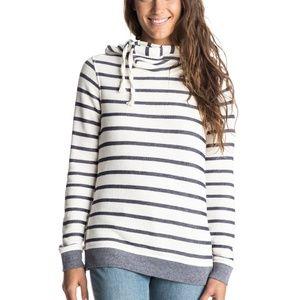 NWT Roxy Stiped Pullover Sweatshirt
